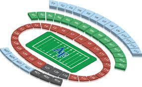 Hancock Stadium Seating Chart Falcon Stadium Seating Stadium Seats Air Force Falcons