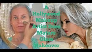 a hollywood makeup artist does glam