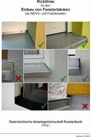 Granit Fensterbank Einbauen Schön Richtlinie Für Den Einbau Von