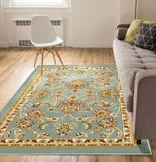 well woven rubber back rug