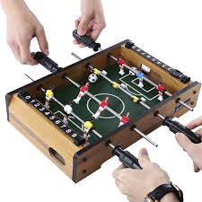 Miniature Wooden Foosball Table Game Mini Table Soccer Hot Sale Foosball Board Game Home Table Soccer 50
