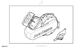 John deere parts diagrams john deere z425 eztrak mower w 48inch deck pc9594 attachment power flow 48hc material collection system