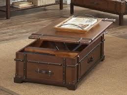 lift top coffee table with storage. Coffee Table, Storage Table Lift Top Rustic Trunk Table: Stunning With F