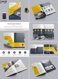 Free Company Report The Company Profile Indesign Template Company Profile