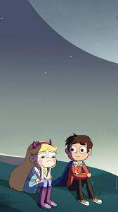 Star Butterfly and Marco Diaz phone ...