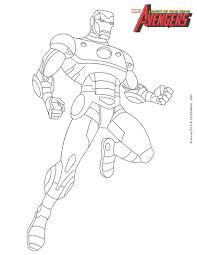 Coloriages Iron Man Fr Hellokids Com