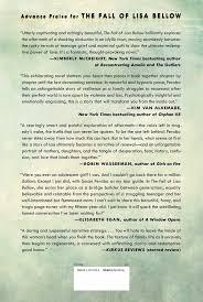 com the fall of lisa bellow a novel  com the fall of lisa bellow a novel 9781476761466 susan perabo books