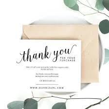 Business Thank You Card Template Printable Cards Ai Download