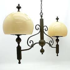 ethan allen chandelier brass dual light glass hanging ceiling lamp hudson ethan allen chandelier