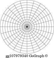 Polar Coordinate Clip Art Royalty Free Gograph