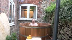 how to build a cedar wood hot tub