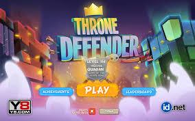 y8 games throne defender