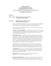 Ideas Of The Real Estate Agent Resume Examples Tips With Reo