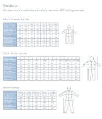 Baby Dress Length Chart Size Chart