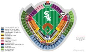 White Sox Seating Chart New Chicago White Sox Seating Chart