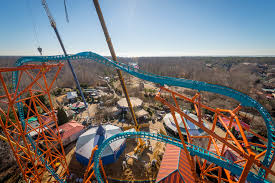 tempesto the newest roller coaster at busch gardens will send riders 154 feet in