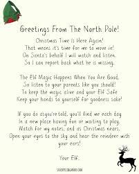 Elf A Shelf Wel e Letter