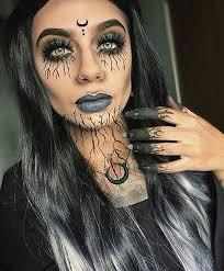 12 creative diy makeup ideas 6 dark witch makeup makeup
