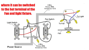 Light Switch For Fan And Light Fan 2wire Diagram For Light Switches Wiring Diagram