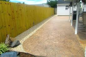 landscaping ideas around concrete patio great for small backyards outdoor design backyard pictures aroun