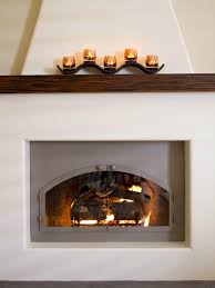 Southwest Fireplace Design Ideas A Stunning Adobe Fireplace Is Given A Modern Update In This