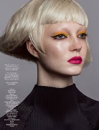 magazine l officiel singapore january 2016 beauty editorial bold rush photographer iakovos kalaitzakis model yana dobrolyubova fashion editor maria