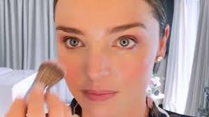 miranda kerr s low key wedding makeup