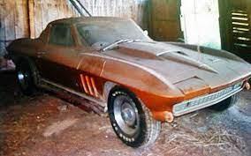 1966 Corvette Big Block From Barn Find To Award Winner Car Barn Abandoned Cars Barn Finds Classic Cars
