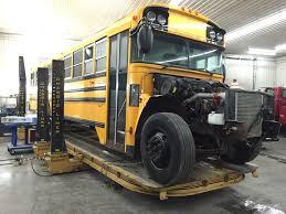 Frame Modification Auto Truck Semi Commercial Vehicle Bus