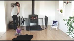 babydan hearth gate fire guard how to use babysecurity