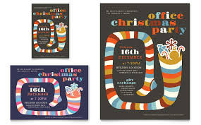 Company Christmas Party Invite Template Free Company Christmas Party Invitation Templates