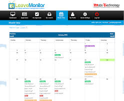 Vacation Planner Online Best Online Staff Holiday Planner Annual Leave Planner