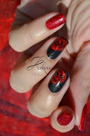 impressive designs red black. Impressive Designs Red Black. And Black Nail Art 20 According Inspiration Article E