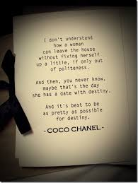Coco Chanel Beauty Quotes Best Of All In The Detail Ask Coco Chanel