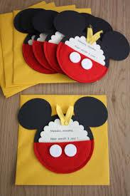 Make Your Own Mickey Mouse Invitations Doris Dorisrosaslazar On Pinterest
