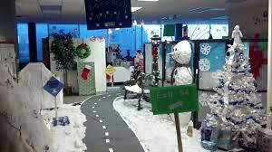 Christmas Cubicle Decorating Contest Ideas