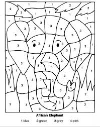 Small Picture Number Coloring Pages Coloring Pages For Kids Coloring Pages By