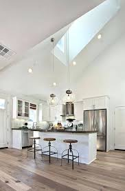 vaulted ceiling lighting. Sloped Ceiling Lighting Ideas. Vaulted Best Ideas On High To Vintage Kitchen Idea I
