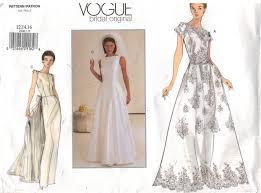 Vogue Bridal Patterns Unique Inspiration Ideas