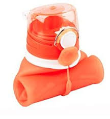 Buy FLEXY Collapsible <b>Silicone</b> Water <b>Bottle</b> with Various <b>Color</b> ...