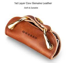 key wallet key organizer keychain leather wallet smart key wallet car key holder genuine leather wallet