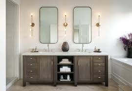 Bathroom vanity lighting ideas Dark Double Vanity Lighting Best Lighting For Bathroom Navseaco Double Vanity Lighting Bathroom Lighting Over Vanity Double Vanity