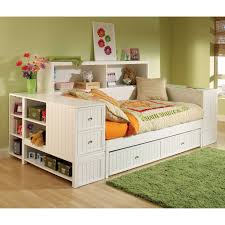 Kids Bed With Bookshelf Bookcases Ideas Bed With Bookcase Storage Kids Storage Beds With