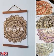 image is loading personalised name canvas wall art rhinestone crystal gift  on personalised canvas wall art uk with personalised name canvas wall art rhinestone crystal gift mandala