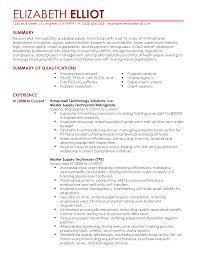Supply Technician Resume Example Army Supply Technician Resume Najmlaemah 8