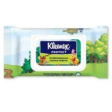 <b>Kleenex Салфетки влажные</b> антибактериальные купить в Москве ...