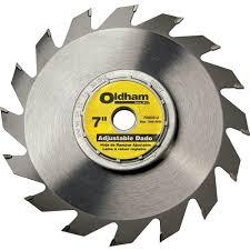 dewalt dado blade. oldham 7 adjustable dado blade - rockler.com dewalt b