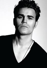 New Paul Wesley black and white - HD Image #9 on WallpapersQQ