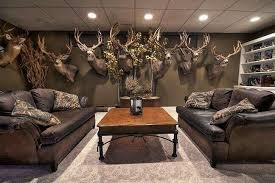 trophy rooms hunting room man cave