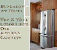 Beautiful Kitchen Wall Colors With Oak Cabinets Top For Kitchens Perfect Design